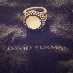 David Yurman Opal Albion ring.